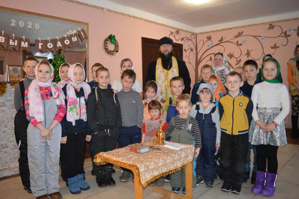 Рождественский молебен 2020 г. с. Кадымцево
