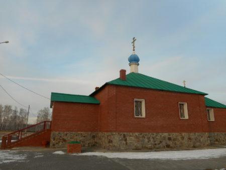Храм НИколая Чудотворца крест новый