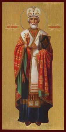 Святитель Николай Чудотворец житие